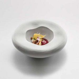 тарелка глубокая для подачи