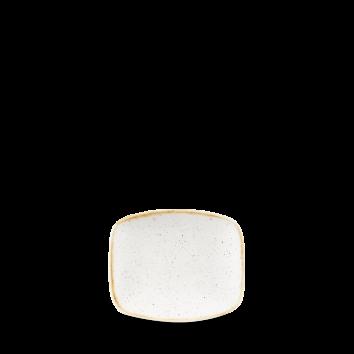 Тарелка прямоугольная 12.60см. x 15.40см.