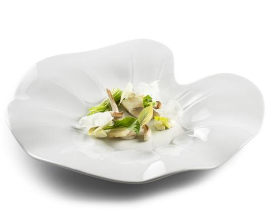 Тарелка для сервирование для ресторанов Pordamsa ручная робота