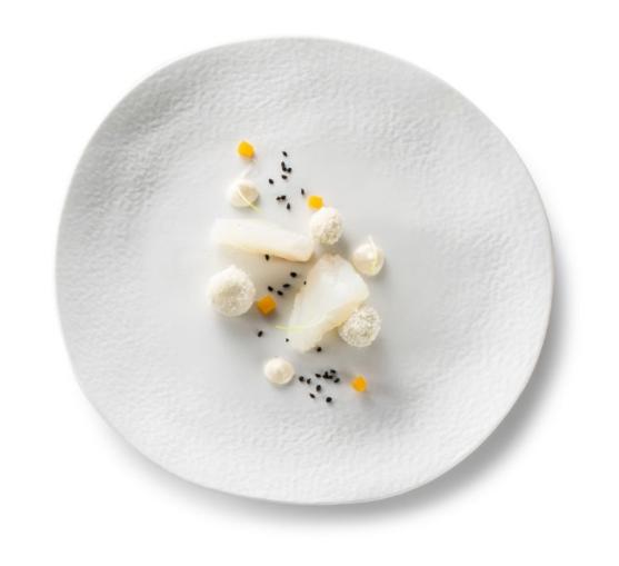 Тарелка плоская для закусок